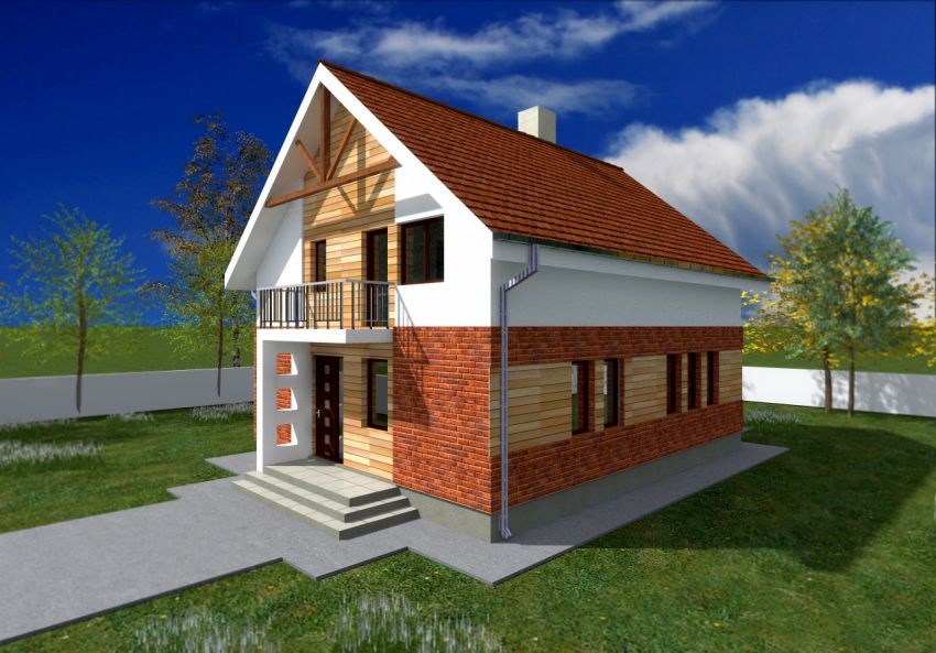 Attic houses under 150 square meters houz buzz - Houses undersquare meters ...