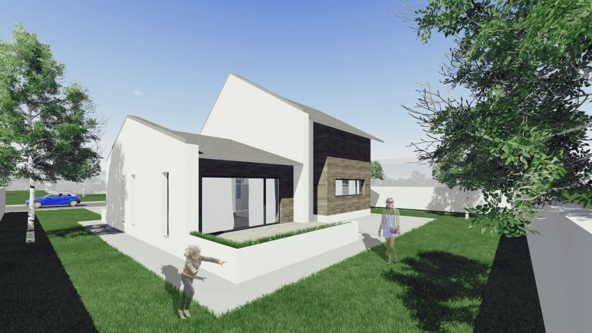 case cu mansarda sub 150 de metri patrati attic houses under 150 square meters 8