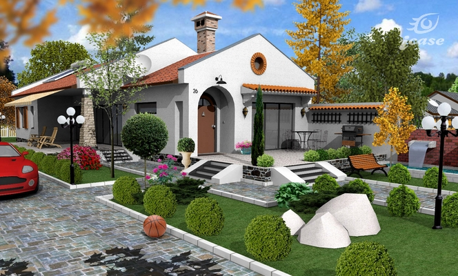 Beautiful one story house plans