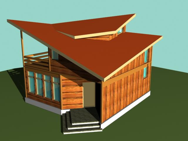 Solid wood house plans