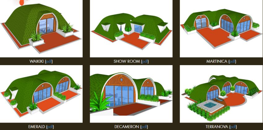 The hobbits houses magic green homes houz buzz - The chapel cottage historic vestige in contemporary lines ...