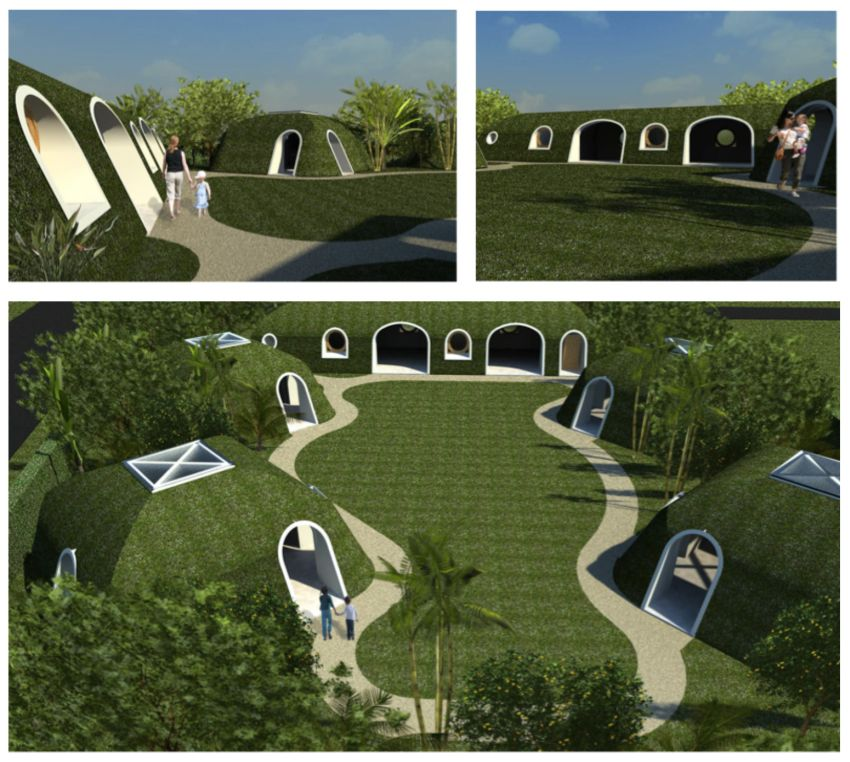 case hobitilor The Hobbits' houses 5