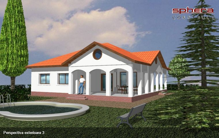 case mici cu trei dormitoare Small three bedroom house plans 12