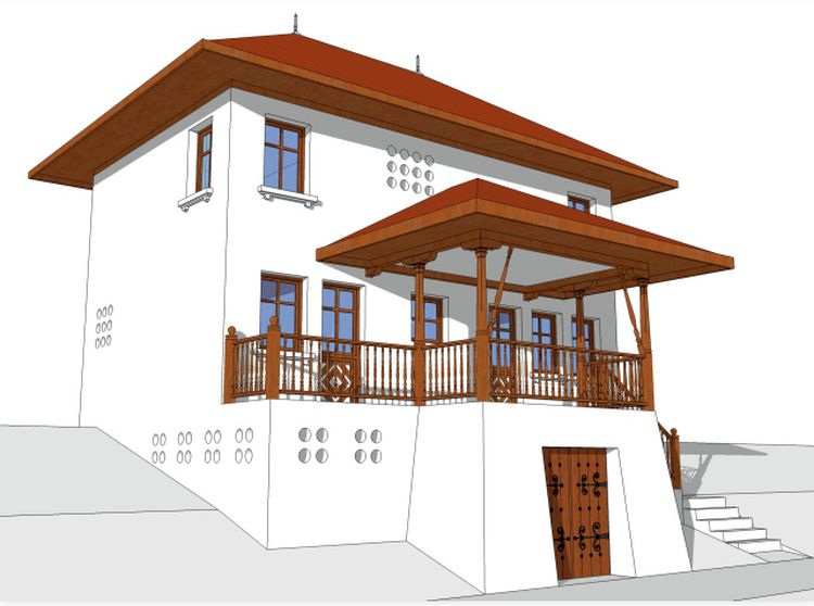case traditionale romanesti romanian traditional houses 15
