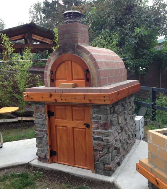 Home Wood Oven ~ Outdoor brick ovens easy to replicate ideas houz buzz