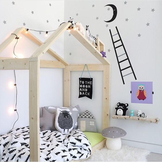 decoratiuni pentru camera copilului Kid's room decorating ideas 12