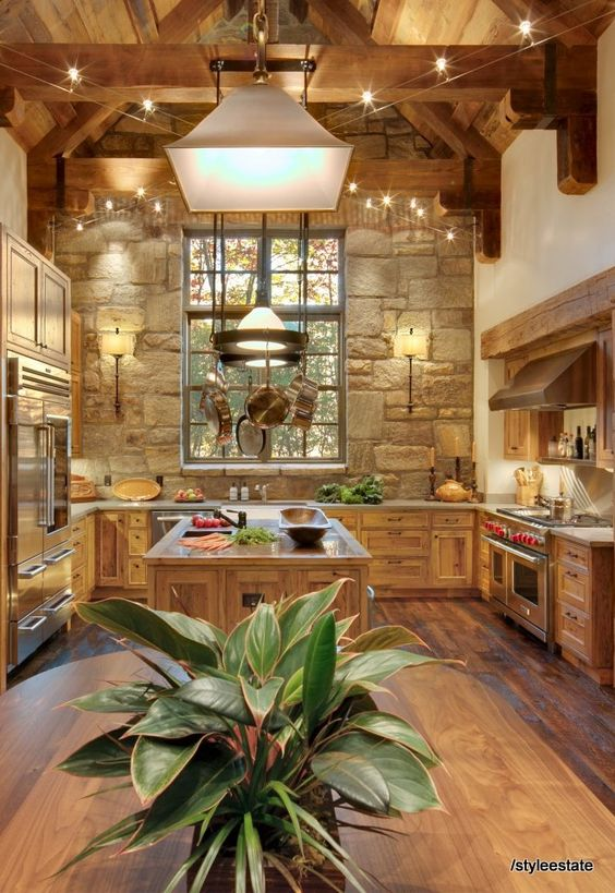 Solid wood kitchen cabinets care tips and design ideas houz buzz - The fireman pole apartment an incendiary design ...