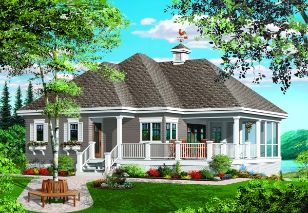 Screened porch house plans