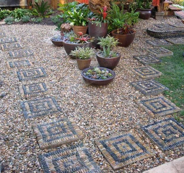 15 decorative stone garden landscaping ideas houz buzz for Decorative landscaping rocks