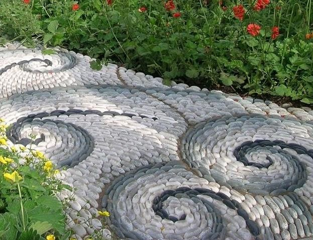 pietre decorative pentru gradina Decorative stone garden landscaping ideas 4