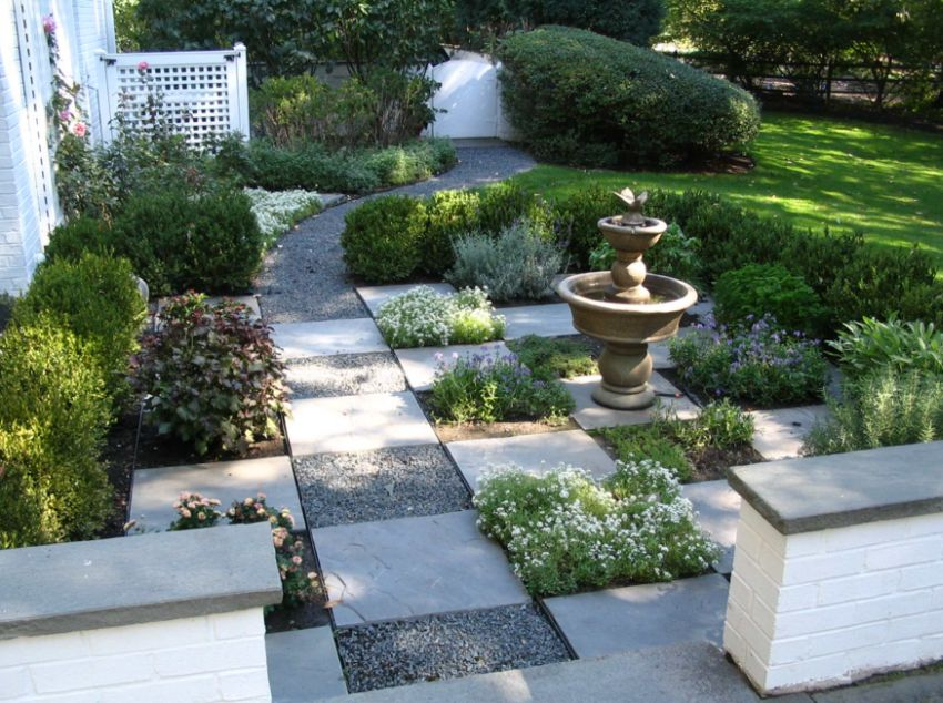 15 decorative stone garden landscaping ideas houz buzz Backyard landscaping ideas with stones