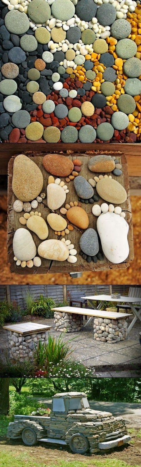 pietre decorative pentru gradina Decorative stone garden landscaping ideas 9