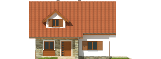 proiecte de case cu mansarda sub 100 de metri patrati Attic houses under 100 square meters 6