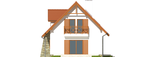 proiecte de case cu mansarda sub 100 de metri patrati Attic houses under 100 square meters 9