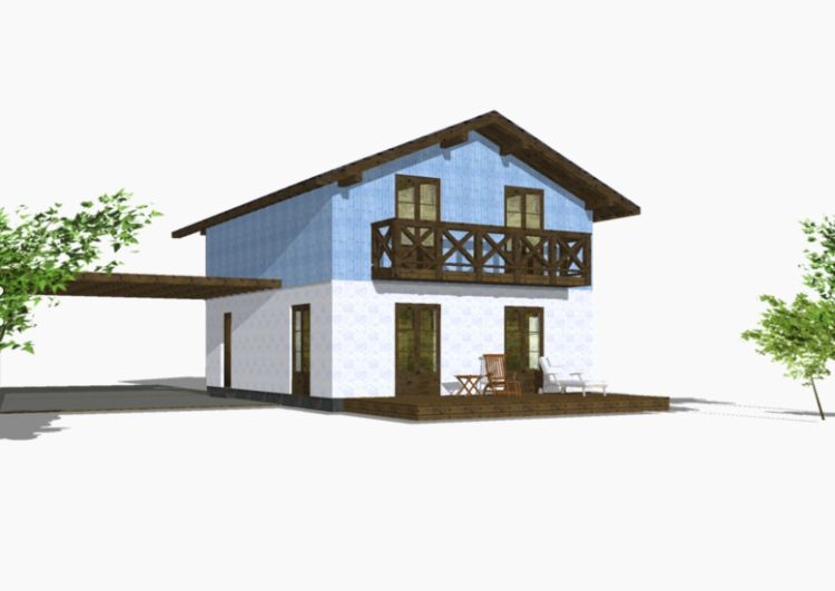 case din panouri din lemn wood panel house plans 12
