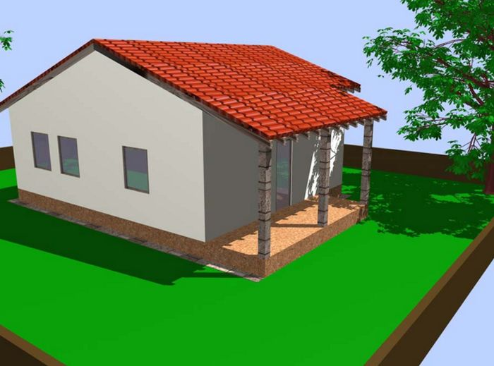 case din panouri din lemn wood panel house plans 4