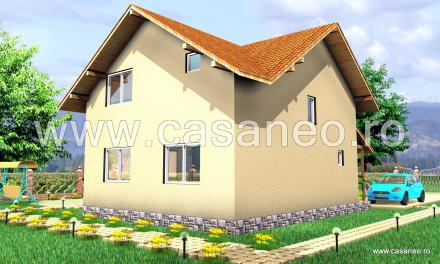 case din panouri termoizolante Sandwich panel homes 18
