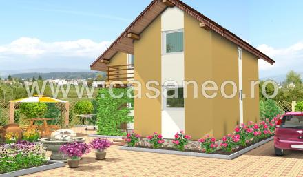 case din panouri termoizolante Sandwich panel homes 4