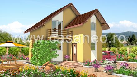 case din panouri termoizolante Sandwich panel homes 5