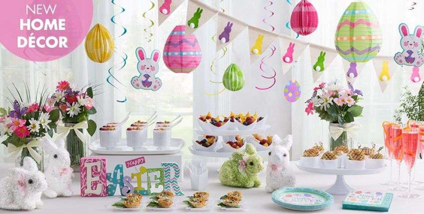 decoratiuni pentru masa de Paste Table Easter decorations 1
