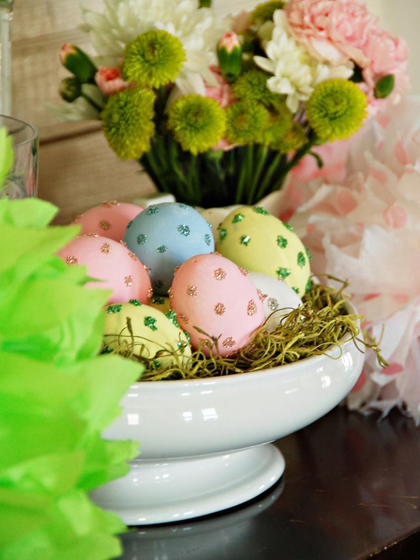 decoratiuni pentru masa de Paste Table Easter decorations 13