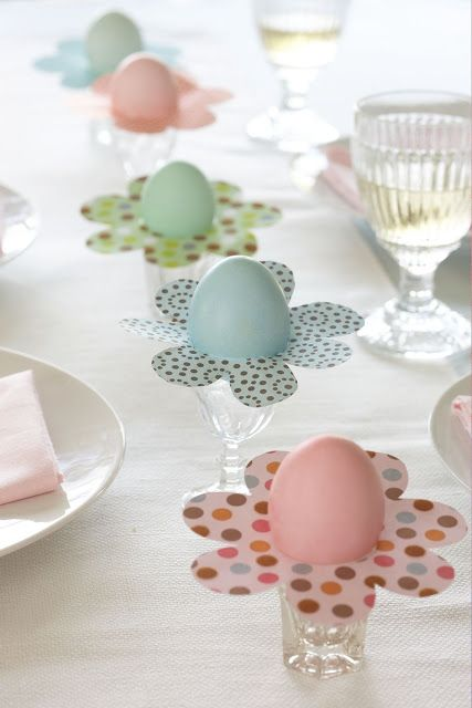 decoratiuni pentru masa de Paste Table Easter decorations 2