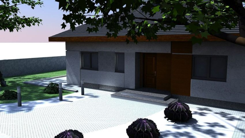 case cu parter si 3 dormitoare three bedroom house plans 7