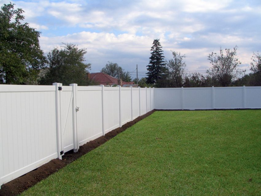 PVC fencing solutions