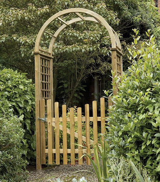 15 Splendid Garden Arches Design Ideas Houz Buzz