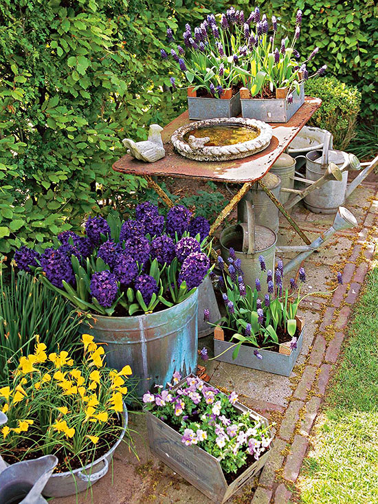 Rustic Flower Gardens 17 Landscaping Ideas Houz Buzz