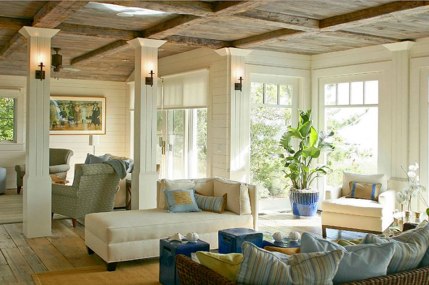livinguri cu tavan din lemn wood ceiling living rooms 8