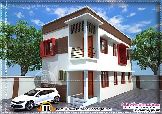 Houses for small plots of land