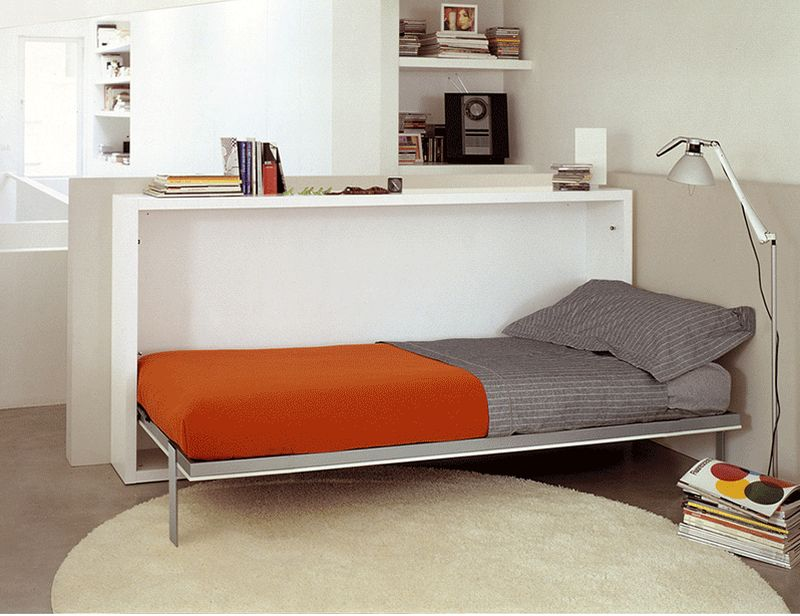 8 smart beds for small rooms houz buzz for Beds for small rooms