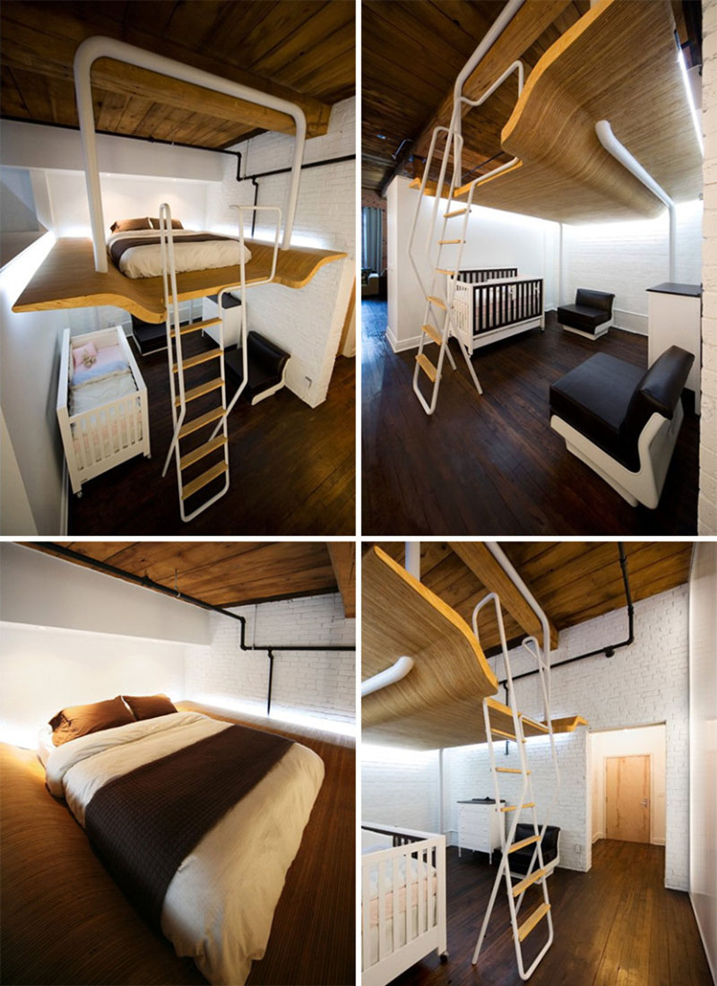 Smart beds for small rooms