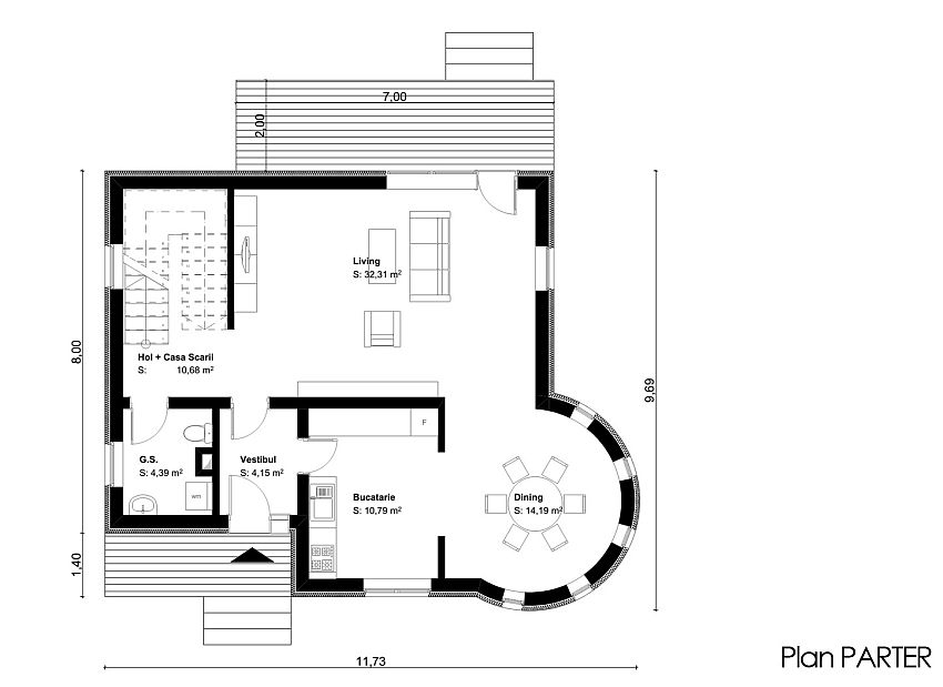 proiecte de case cu un etaj two story house plans 12