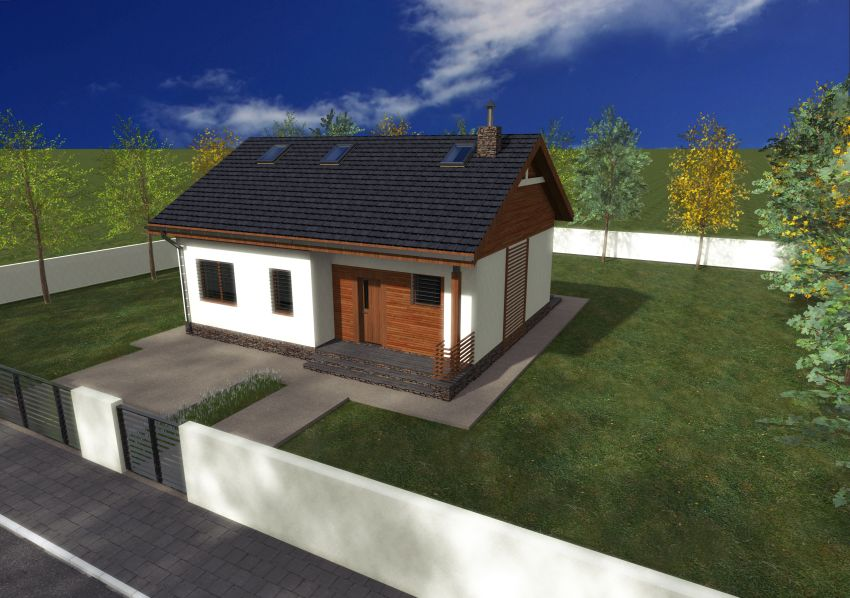 Two bedroom single story house plans