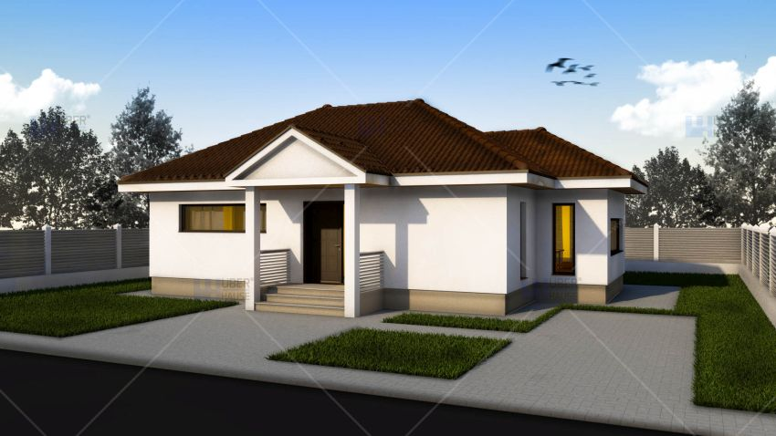 Small single level house plans