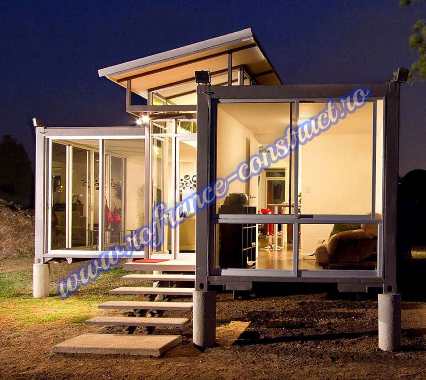 Container homes design ideas and prices houz buzz - Homes made from shipping containers cost ...