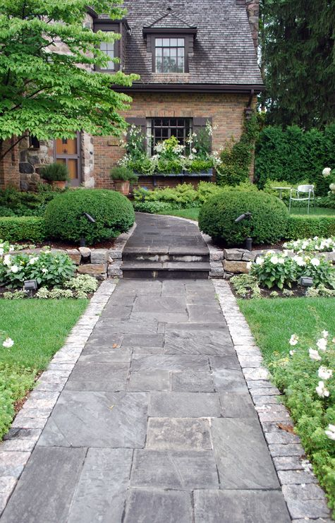 alei din beton amprentat stamped concrete walkway ideas 7