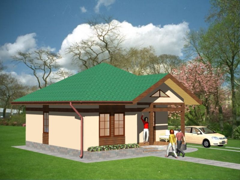case cu doua camere two room house plans 6