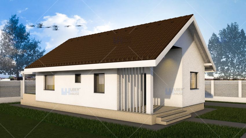 Two room house plans