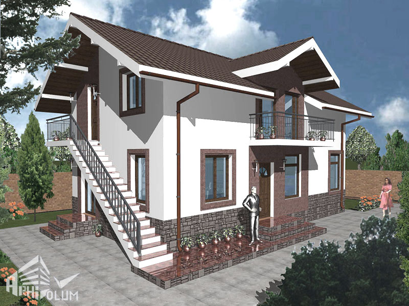 Proiecte case related keywords proiecte case long tail keywords keywordsking - Attic houses with exterior stairs ...