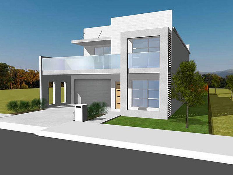Case din placi de beton