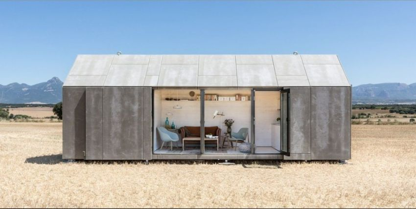 precast concrete houses advantages behind an austere