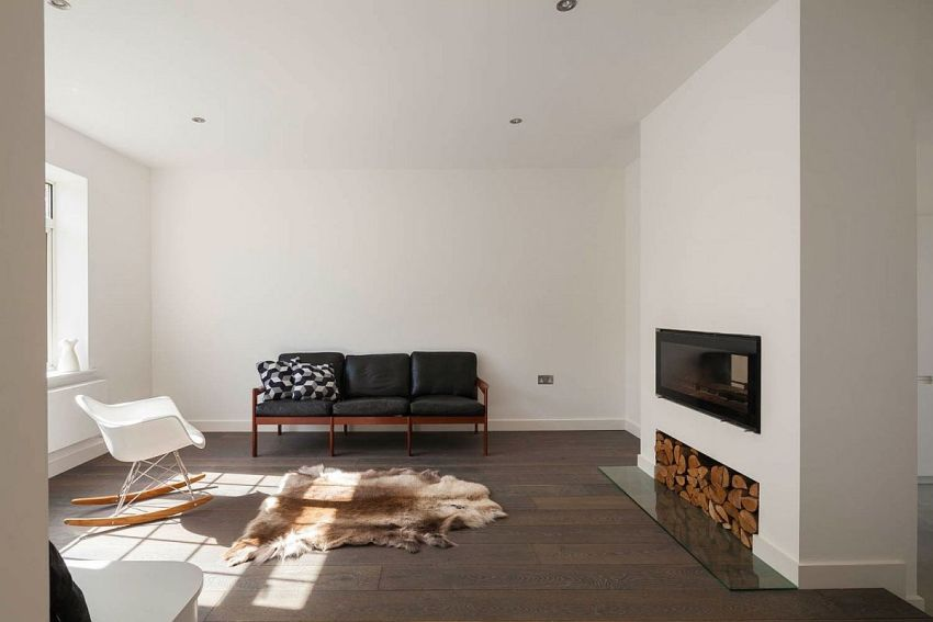 casuta din curte minimalist London home extension 6