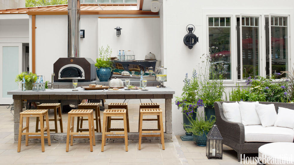 idei pentru bucataria de gradina garden kitchen ideas 3 - Outdoor Kitchen Ideas Designs