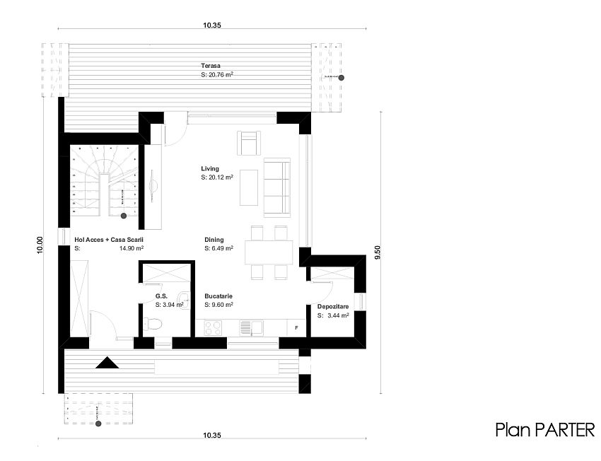 Two Story Houses Under 150 Square Meters Houz Buzz