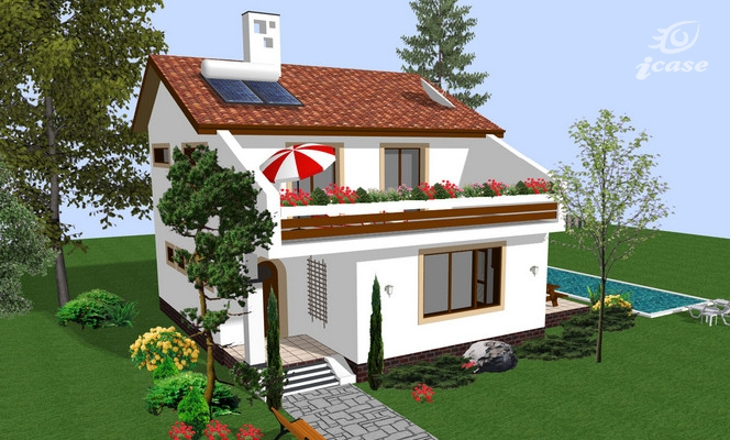 Two story houses under 150 square meters
