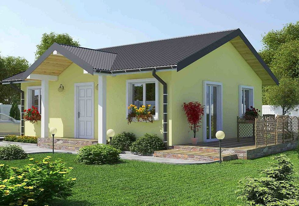 Proiecte Case Etaj Dormitoare Two Bedroom Single Story House Plans Mici Casele