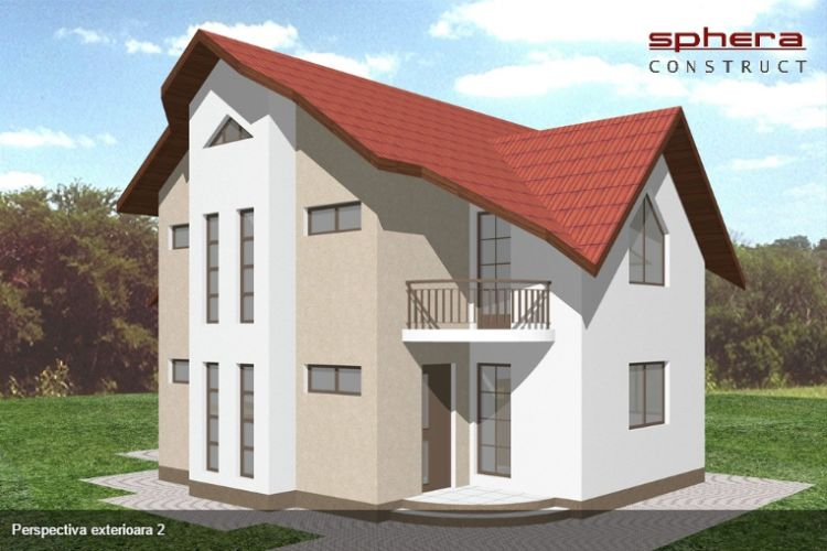 proiecte de case intre 100 si 160 de mp House plans under 160 square meters 6